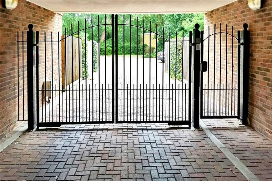 Gated Access To Car Park