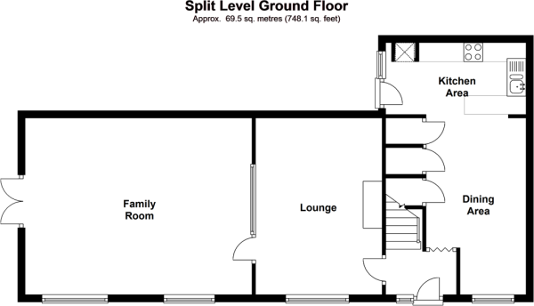 Split Level Ground Floor