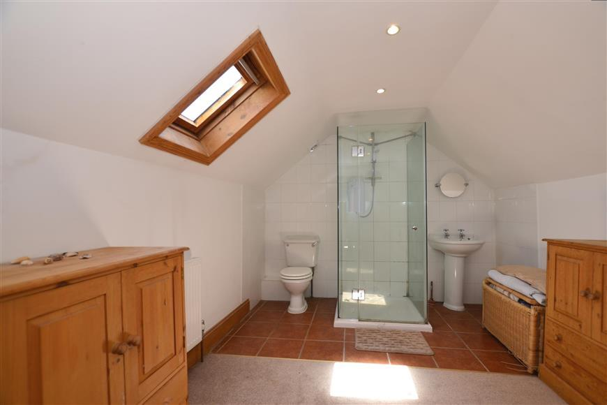 Loft Room (Used As A Shower Room)
