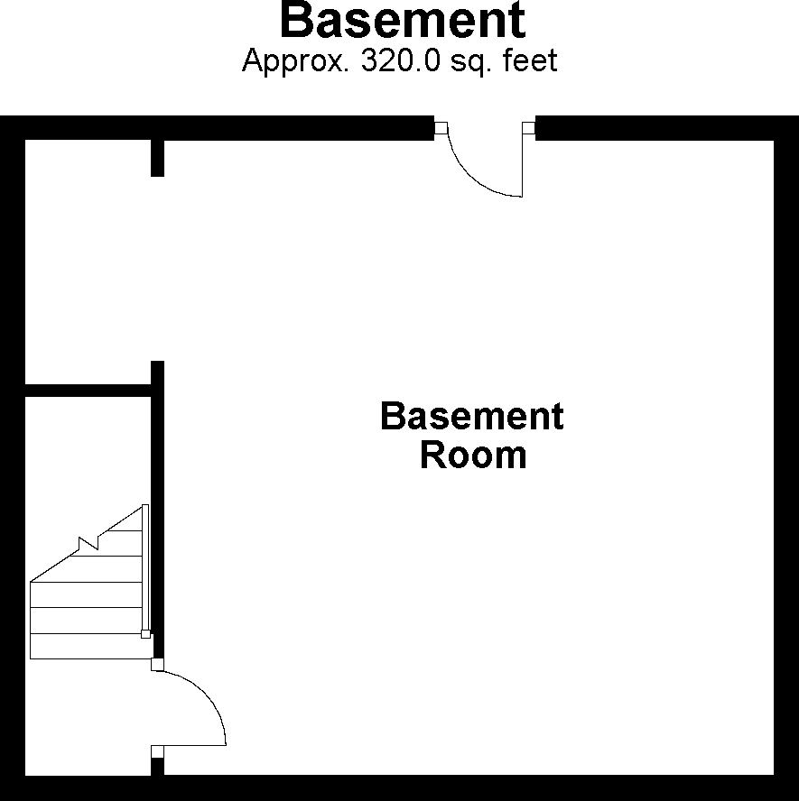 Basement floorplan