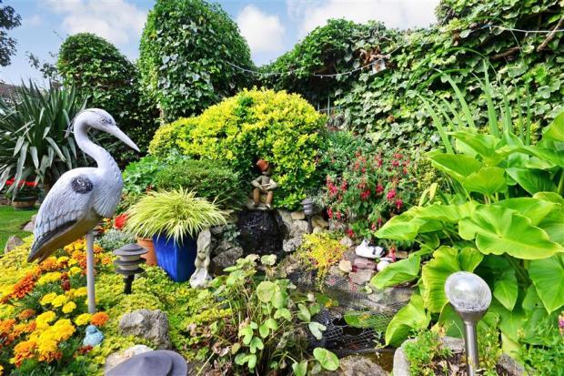 Rear Garden Feature
