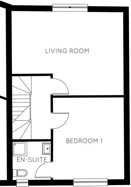 First Floor Plot 8