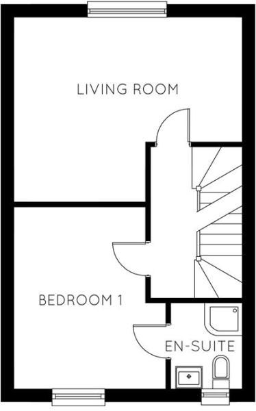 First Floor Plot 3