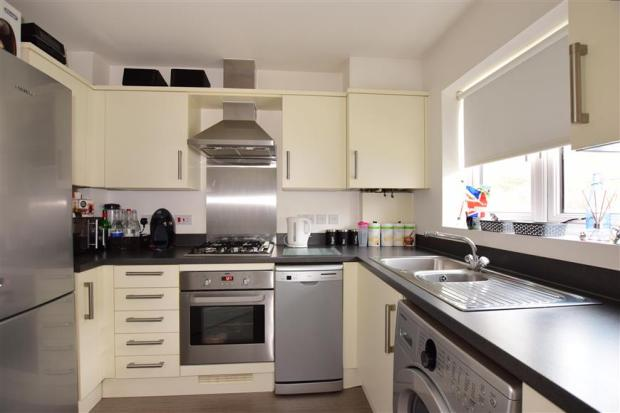 2 bedroom terraced house for sale in eustace crescent for Kitchen outlays