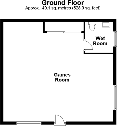 Games Room floorplan