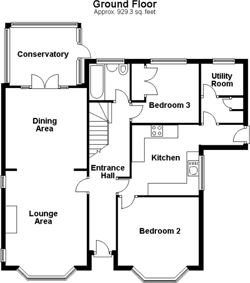 Image Result For House Plan Ground Floor