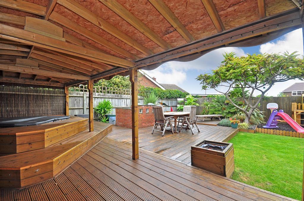 Decking Garden Rear Garden Design Ideas Photos
