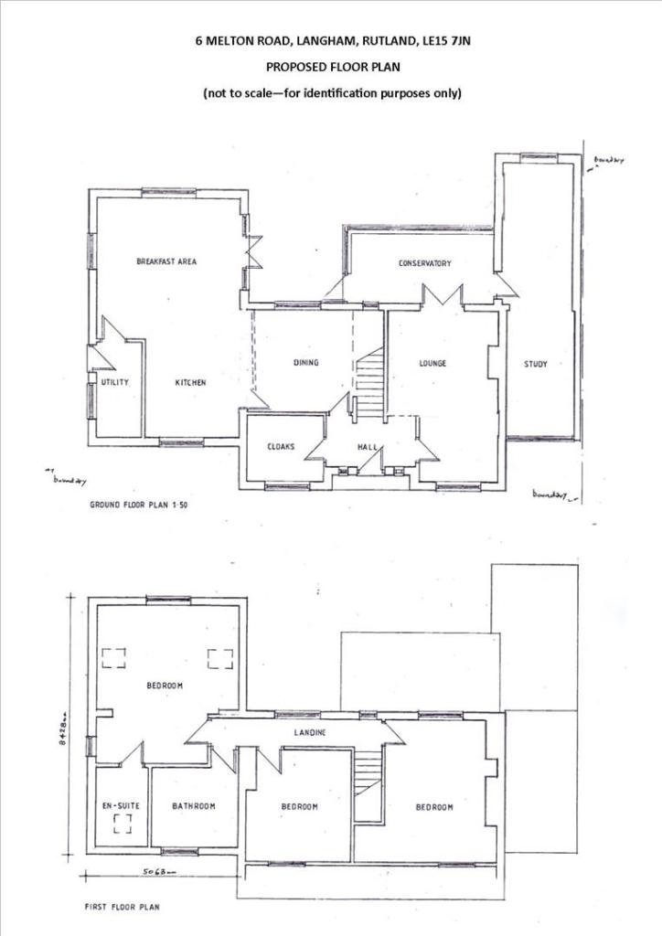 Proposed Floor Plan-