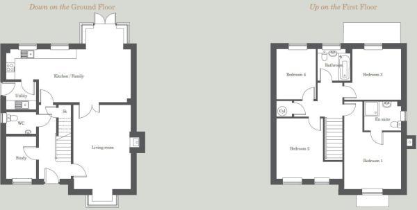 The Rowan - floor pl