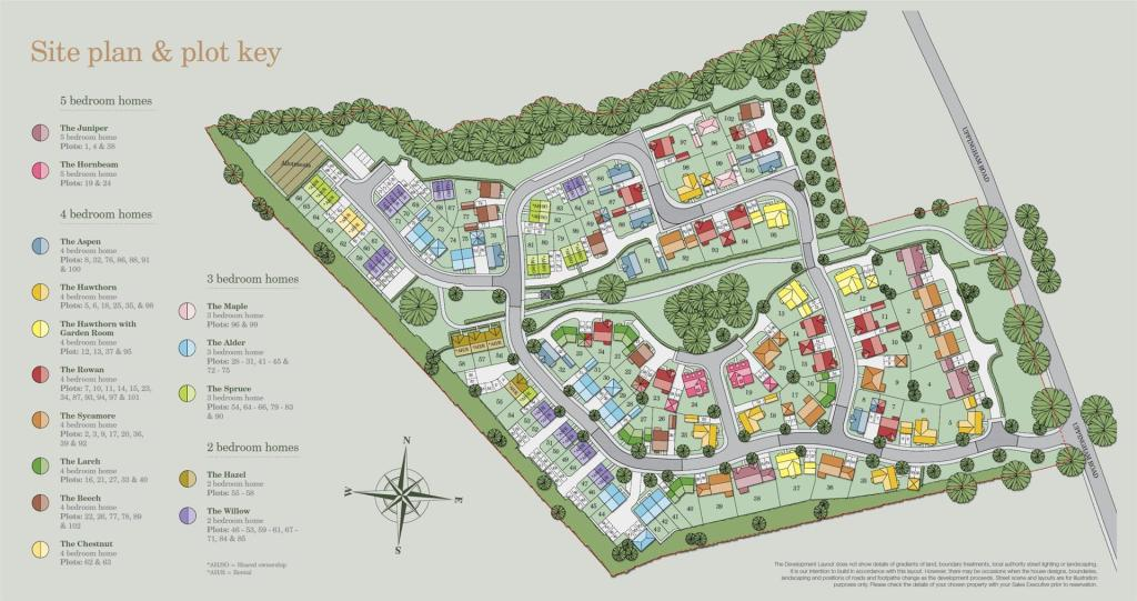 Site Plan & Plot Key