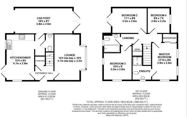 Floor Plan - 5 Coler