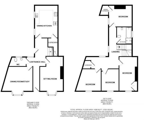 Floor Plan - 1 South