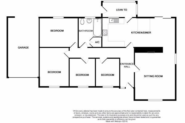 Floor Plan - The Bun