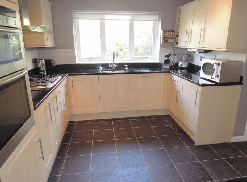 The recently re-fitted Kitchen