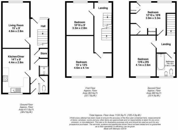 Floorplan - 4 Shaw Close