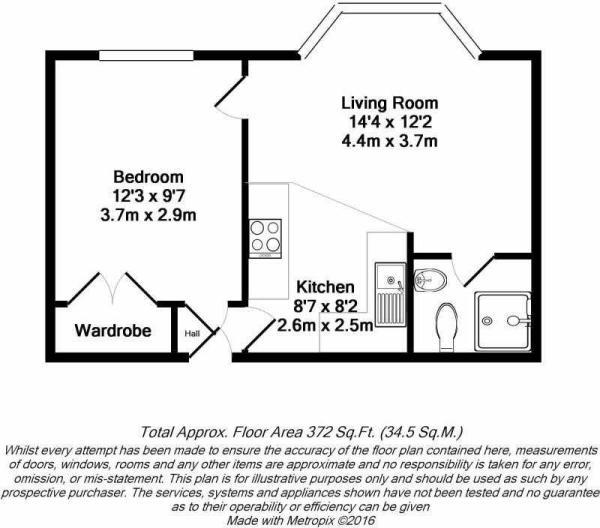 Floorplan - F7, 59 Ashley Hill