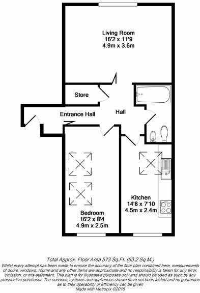 Floorplan - TFF, 30 Sussex Place