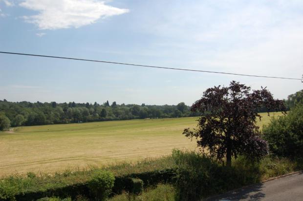 views of farmland