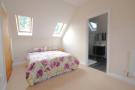 Bedroom with ensu...