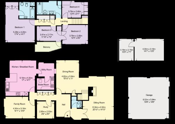 Yew House - Floorpla