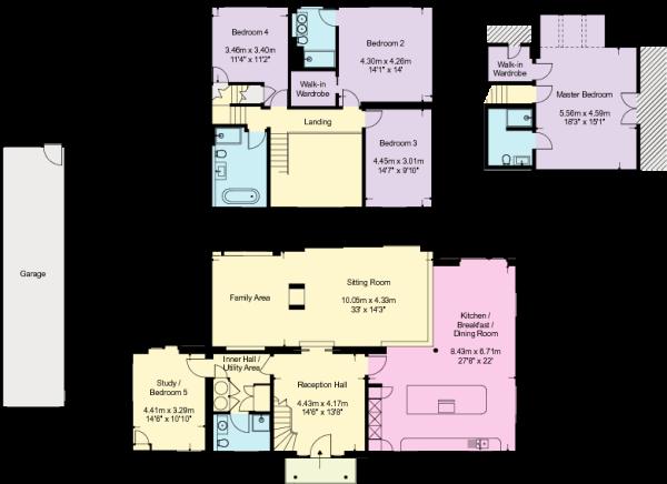 Bush House - Floorpl