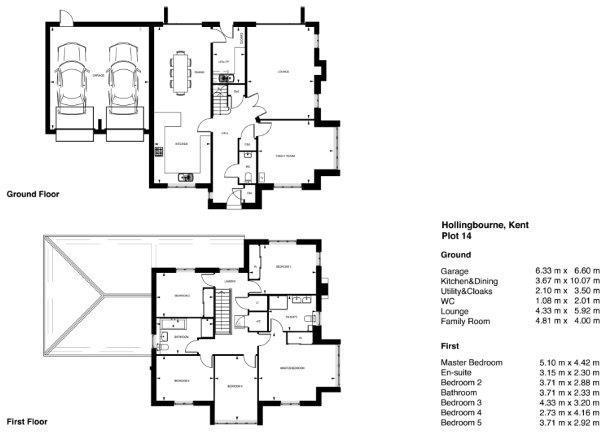 New floor plan for p