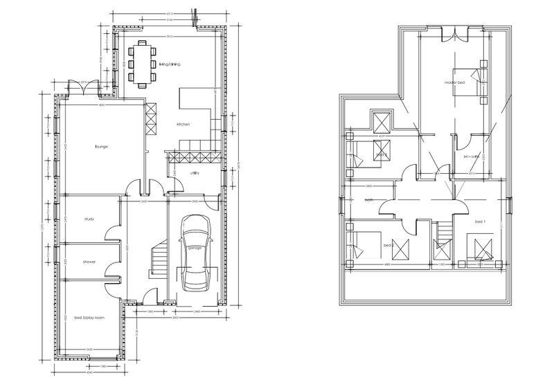 Draft Floorplans