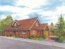 3 bed new development in Marsh Lane, Addlestone...