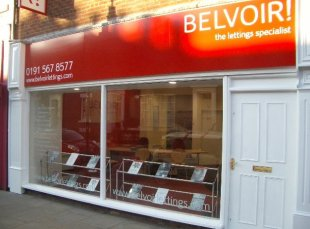 Belvoir! Lettings, Sunderlandbranch details