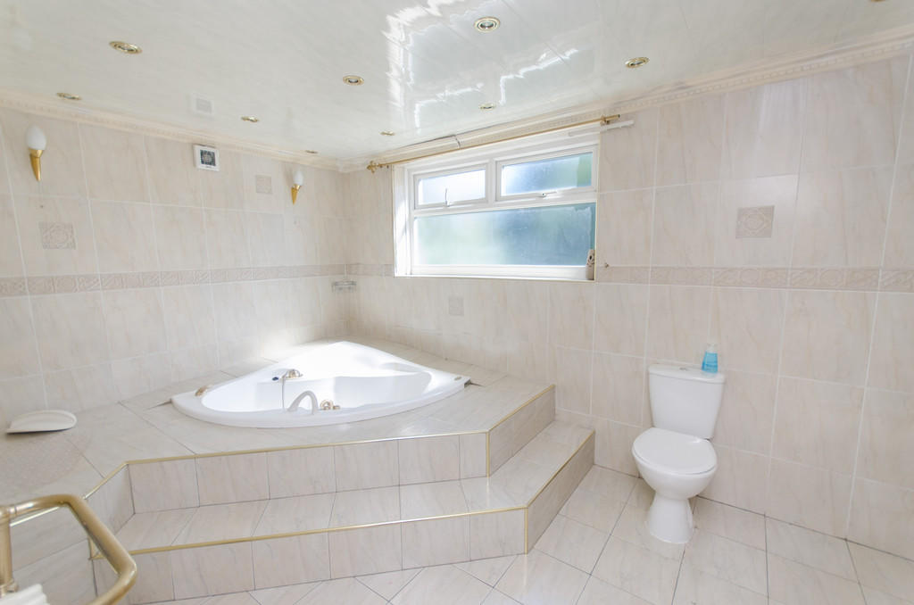 Mezzanine bathroo...