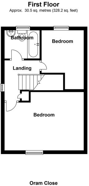 Oram Close - Floor 1