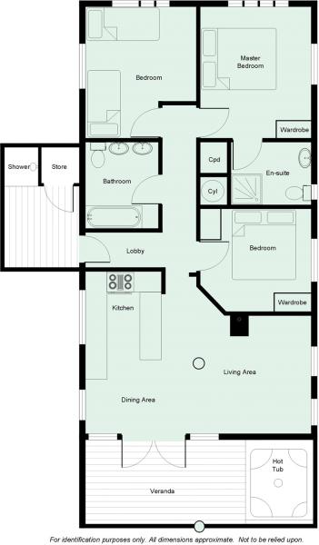 3 Bed Lodge
