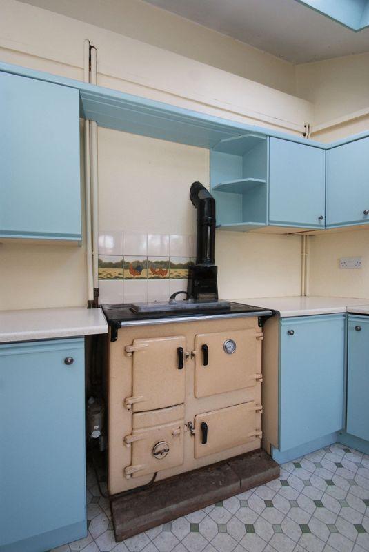 Kitchen range ...