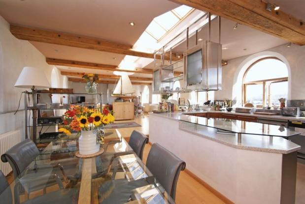 Kitchen and di...