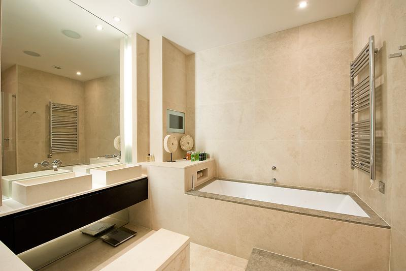Modern beige bathroom design ideas photos inspiration rightmove home ideas Beige brown bathroom design