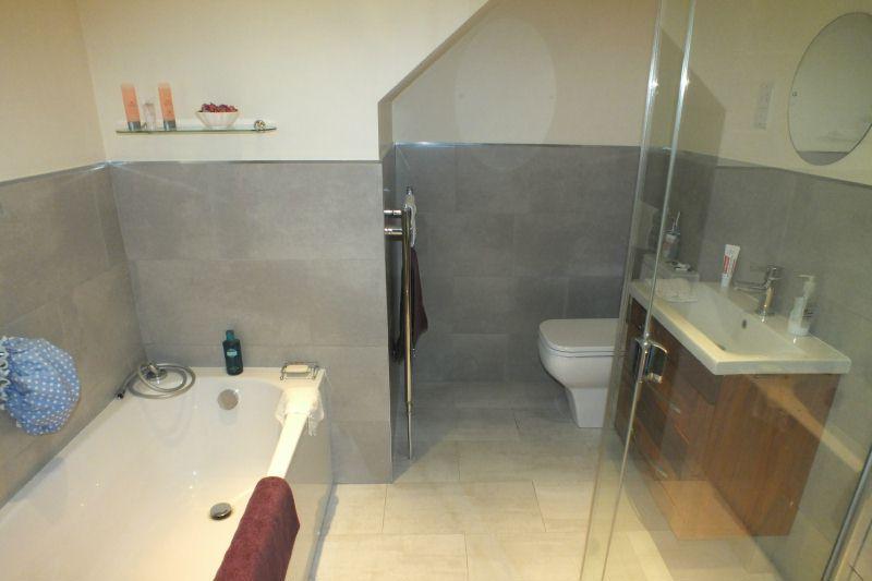 photo of beige white bathroom ensuite ensuite bathroom