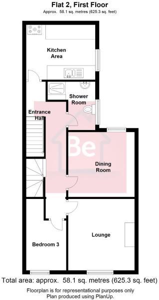 Flat 2, First Floor
