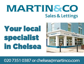 Get brand editions for Martin & Co, Chelsea Sales & Lettings