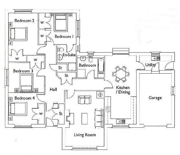 Holydean Floorplan