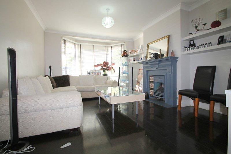 photo of black white living room lounge