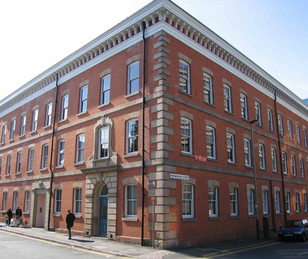 1 bedroom apartment to rent in the cotton mill 35 king for Bathroom builders leicester