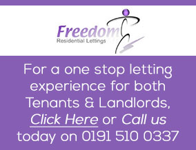 Get brand editions for Freedom Residential Lettings, Sunderland