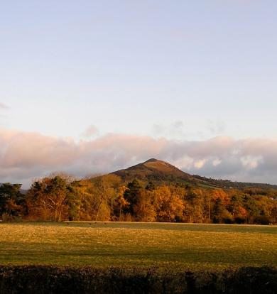 Skirrid from bed 1