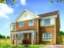 semi detached home in Plot 6, Parc Morfa...
