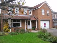 Detached house in Chestnut Close...