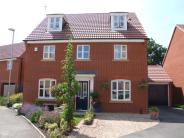 Detached house for sale in Hadrians Walk...