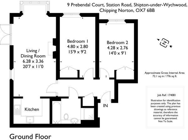 9 Prebendal Court, 1