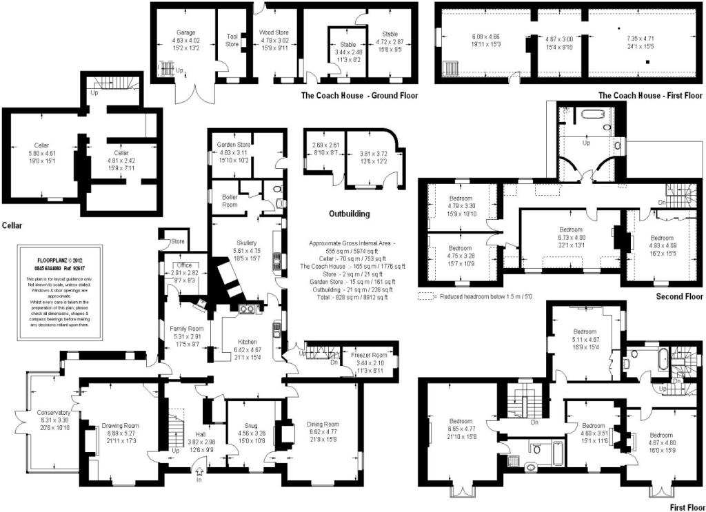 28 burghley house floor plan burghley house floor for Blueprint house plans