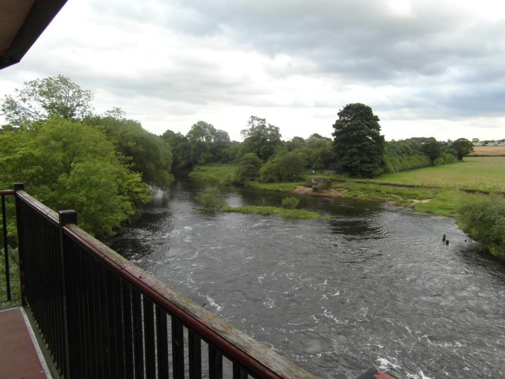 View downriver