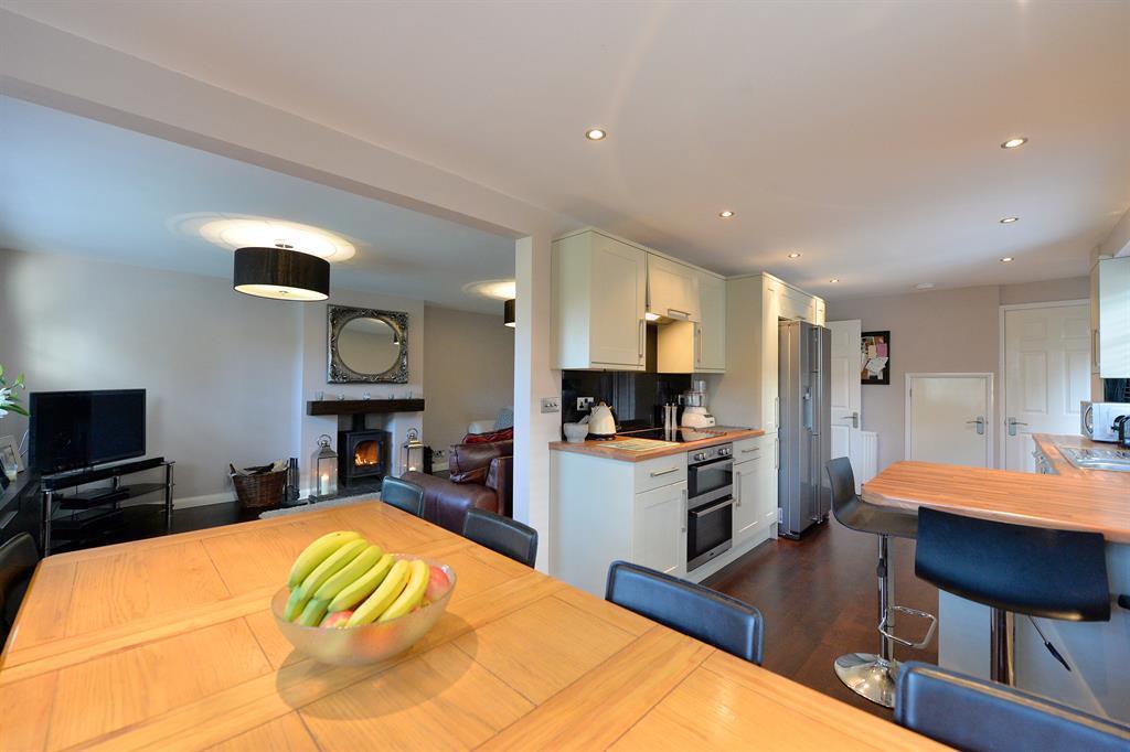 kitchen through to sitting room